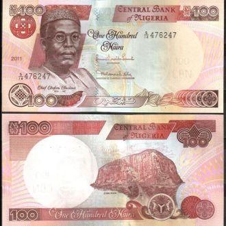 Nigeria / Нигерия - 100 Naira 2011 - UNC - OLM