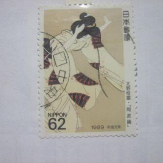 Япония 1989 Неделя филателии ГАШ