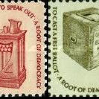 США 1975 стандарт атрибуты демократии книги ** о