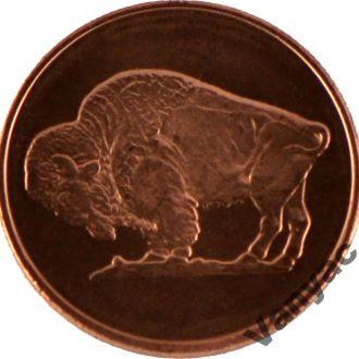 Токен США Buffalo Round (Медь) (Одна AVDP Унция)