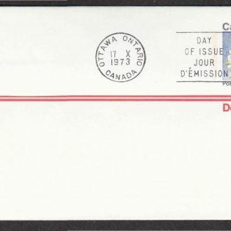 Канада 1973 БЕЛАЯ САДОВАЯ ЛИЛИЯ КВЕБЕКА ФЛОРА РАСТЕНИЯ ЦВЕТЫ ДИКАЯ ПРИРОДА БОТАНИКА ХМК ОМ ПД