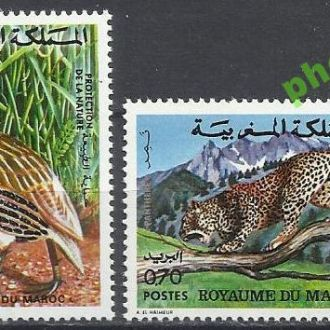 Марокко 1974 фауна птица 2м.**
