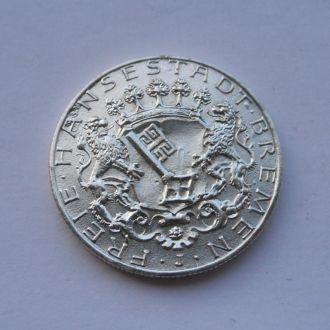 Германия 2 марки 1904 г Бремен