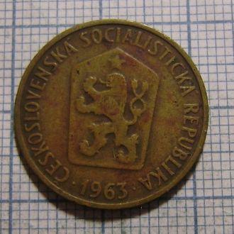 Чехословакия, 50 гелеров 1963