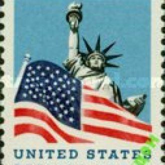 США 1966 статуя Свободы флаг * с