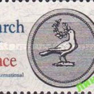 США 1967 Поиск Мира птицы голубь * с