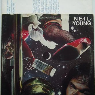 NEIL YOUNG  American Stars 'N Bars  LP  VG/VG-