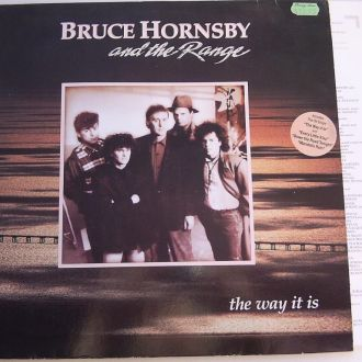 BRUCE HORNSBY AND THE RANGE  The Way It  LP   EX