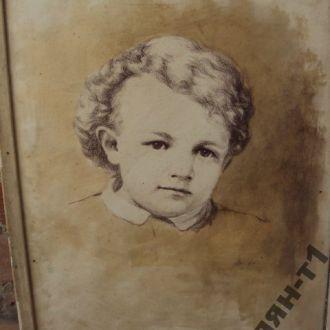 картина графика портрет ульянов