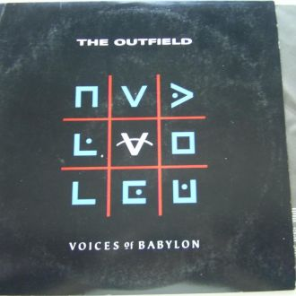 THE OUTFIELD  Voices of Babylon  LP  EX-