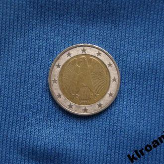 2 евро Германия 2002 г