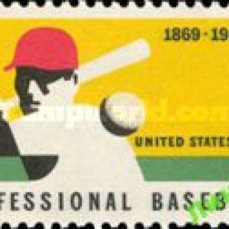 США 1969 бейсбол спорт * с