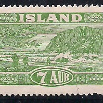 ИСЛАНДИЯ 1925  MH 100 ЕВРО