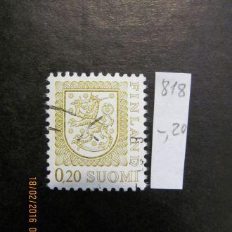швеция герб 1977 гаш