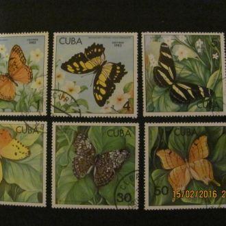 куба бабочки 1982 гаш