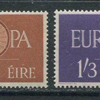 Ирландия 1960 г. Серия * Европа СЕПТ