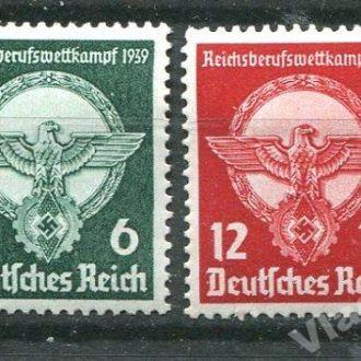 Германия Рейх 1939 год Серия *