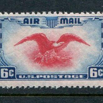США 1938 год Одиночка ** Фауна Авиопочта