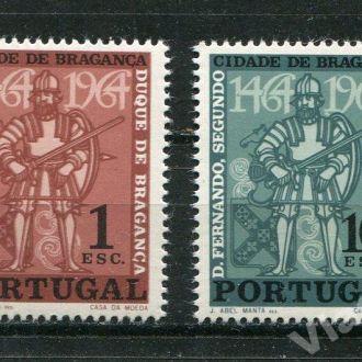 Португалия 1964 г. Серия * История Рыцари