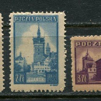 Польша 1945 год Серия ** Архитектура Религия