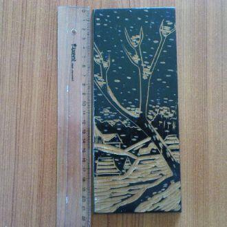 Набір Чорнолакове різьблення по дереву, СРСР