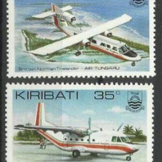Кирибати 1982 транспорт авиация 4м.**