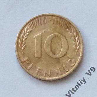10 pfennig 1950