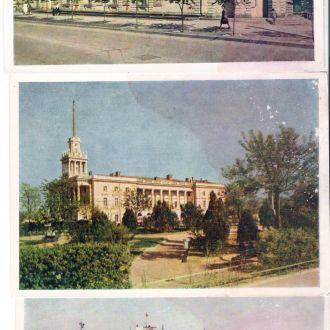 3 фото Крым Севастополь 9 1956 год