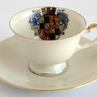 Эспрессо чашка+блюдце Mitterteich 1950-e, Germany