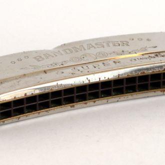 Губная гармошка Bandmaster SUPER C, 2х16, 50-е ГДР