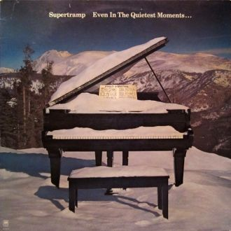 Supertramp  Even In The Quietest Moments lp 1977
