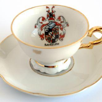 Эспрессо чашка PWB + блюдце Gerold 1960-e Germany