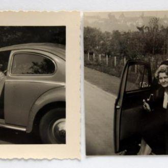 Старые фото Любимый Volkswagen 2 шт. 1950 Германия