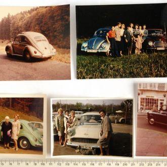 Фото Автолюбители и их авто 5 шт 1970-е Germany