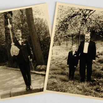 Старые фото Первое Причастие 2шт сер. ХХв Германия