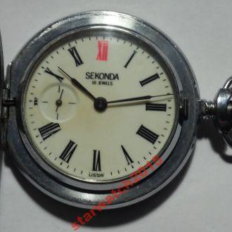 Часы карманные Молния, Seconda, тетерев