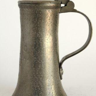 Оловянный пивной бокал 1641 год 450 мл Germany