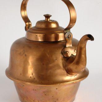 Антикварный медный чайник 3L 1930-е Volund Denmark