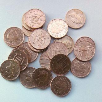1 Пенс PENNY Великобритания разные года.