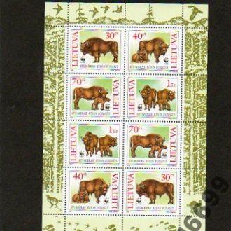 1996 ЛИТВА - бизон