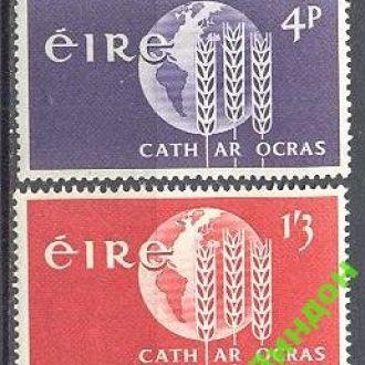 Ирландия 1963 ООН с/х Земля карта ** о