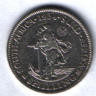 Южная Африка 1 шиллинг 1934 г