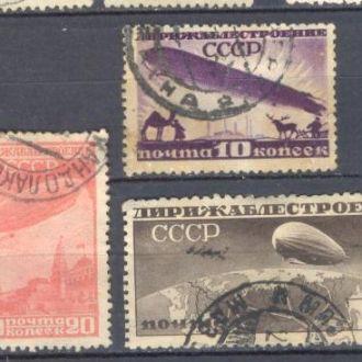 СССР 1931 дирижаблестроени дирижабли авиация гаш м