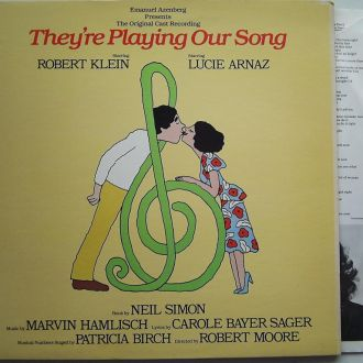 R. KLEIN, LUCIE ARNAZ They're Playing Our Song  LP