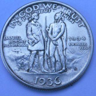 США 1/2 доллара 1936 г