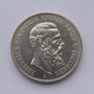 Германия Пруссия 2 марки 1888 г