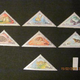 монголия  фауна  1983 гаш