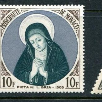 Монако 1955 год Серия * Религия