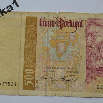 500 эскудо Португалия 1997 г