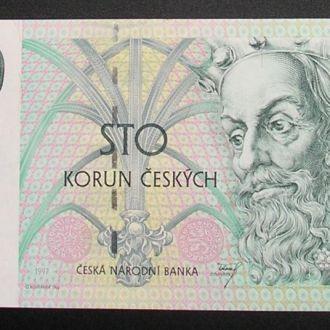 Чехия 100 крон 1997 UNC